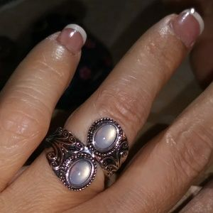 2/$22 Moonstone ring size 6
